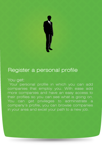 register a personal profile!